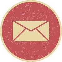 Icône de boîte de réception de vecteur