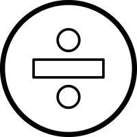 Diviser l'icône Vector