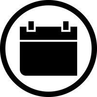icône de vecteur de calendrier