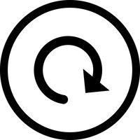 Recharger l'icône Vector