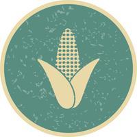 Icône de maïs de vecteur