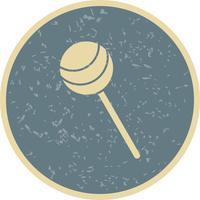Icône de sucette de vecteur