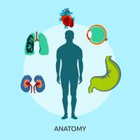 Anatomie Illustration conceptuelle Design