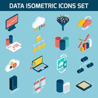 Icônes d'analyse de données