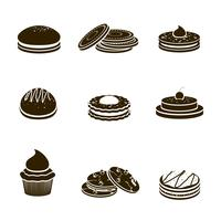 Set de cookies noir