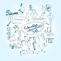 éducation doodle set