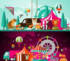 Cirque jour et nuit