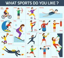 Set d'icônes sportives