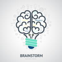 Idée Design Concept vecteur