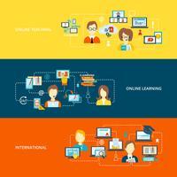 Bannière d'apprentissage en ligne