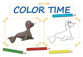 Papier couleur avec walus