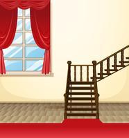 Chambre dans la maison vecteur