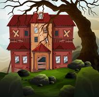 Vieille maison dans la forêt