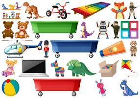 grand ensemble de jouets