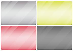 Textures métalliques en quatre couleurs
