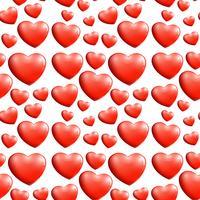 Un motif de coeur sans soudure