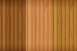 Une planche de bois vide vecteur