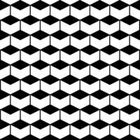 Seamless Pattern avec des hexagones vecteur