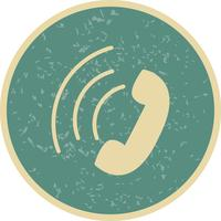 Icône d'appel actif de vecteur