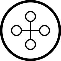 Icône de lien de vecteur