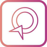 Icône Vector Pay Per Click