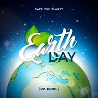 Jour de la Terre vecteur