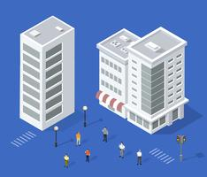 Ensemble de maisons urbaines
