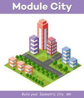 Zone urbaine de la ville