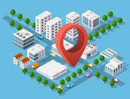 Zone urbaine de l'infrastructure de la ville