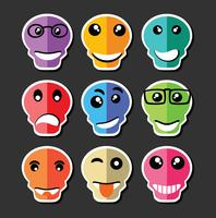 Emoji émoticône expression vecteur