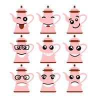 icônes d'expression emoji emoticon vecteur
