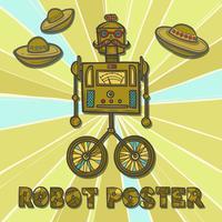Conception de robot hipster