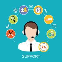 Service de support client