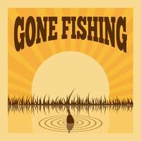 Affiche de pêche