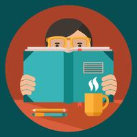 Livre de lecture homme