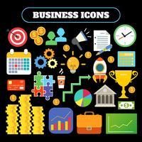 Jeu d'icônes d'affaires