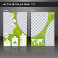 Modèle de brochure Flyer vecteur