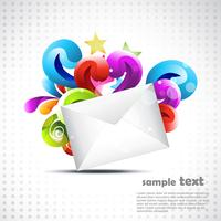 art de courrier vectoriel