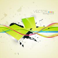 art abstrait vectoriel