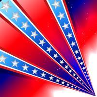 fond de la fête de l'indépendance américaine vecteur