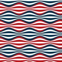 rayures bleues rouges sans couture vecteur