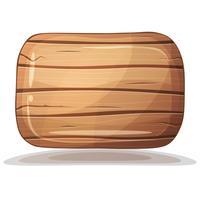 Boîte en bois texture marron. vecteur