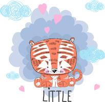 Joli bébé tigre