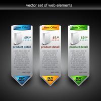 illustration de vente de bannière web vecteur