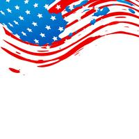 drapeau américain créatif