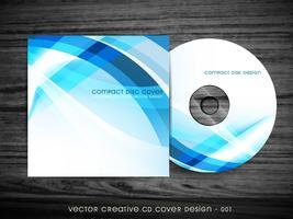 conception de la couverture de cd vecteur