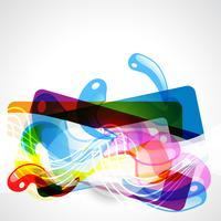 design graphique coloré vecteur