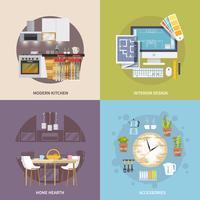 Ensemble de meubles de cuisine