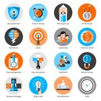 jeu d'icônes de Business concept
