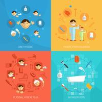 Concept de design d'hygiène